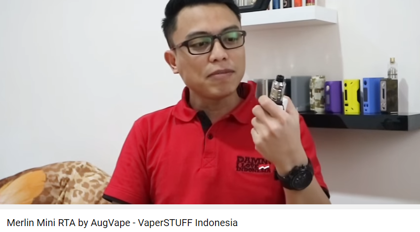 Merlin Mini RTA – VaperSTUFF Indonesia