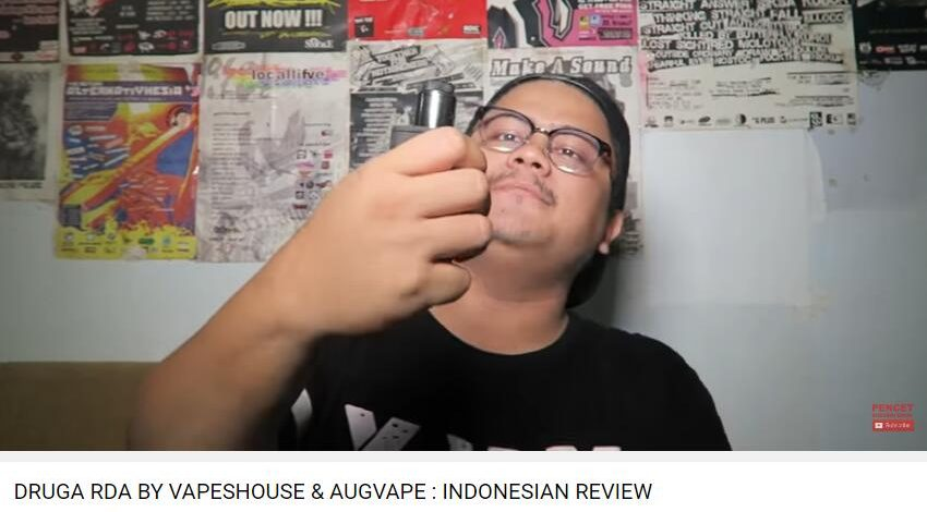 DRUGA RDA BY VAPESHOUSE & AUGVAPE : INDONESIAN REVIEW