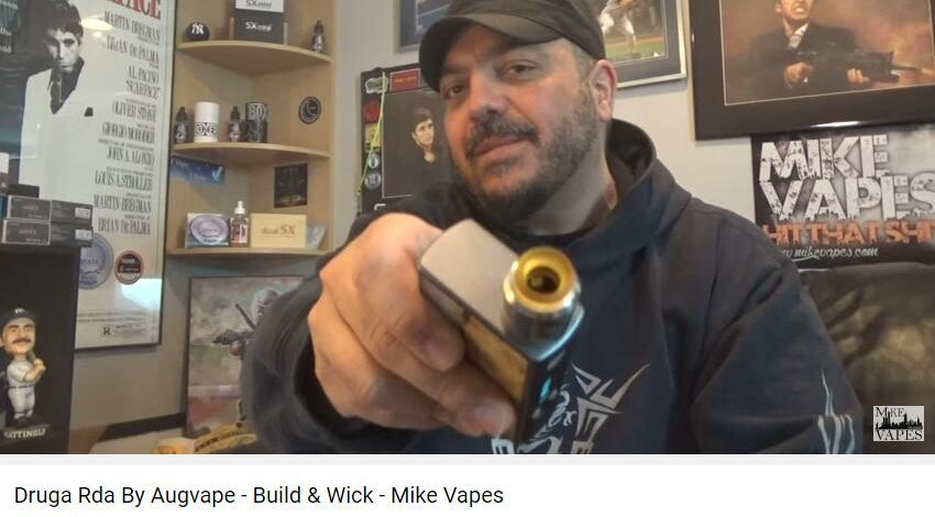 Druga Rda By Augvape – Build & Wick – Mike Vapes