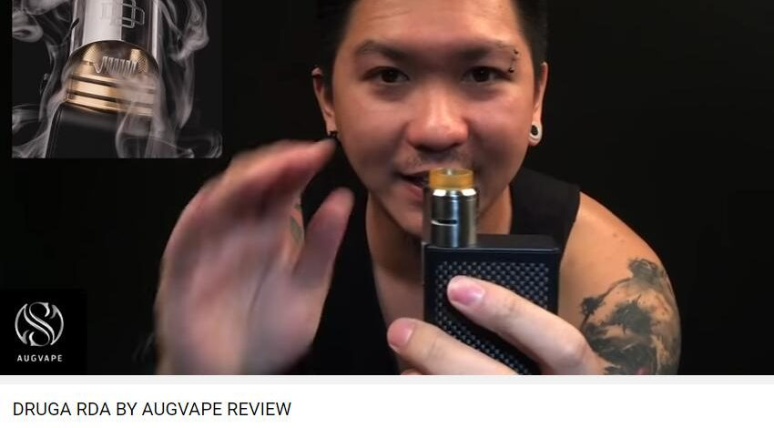 DRUGA RDA BY AUGVAPE REVIEW-Adrian Lo Dejavu
