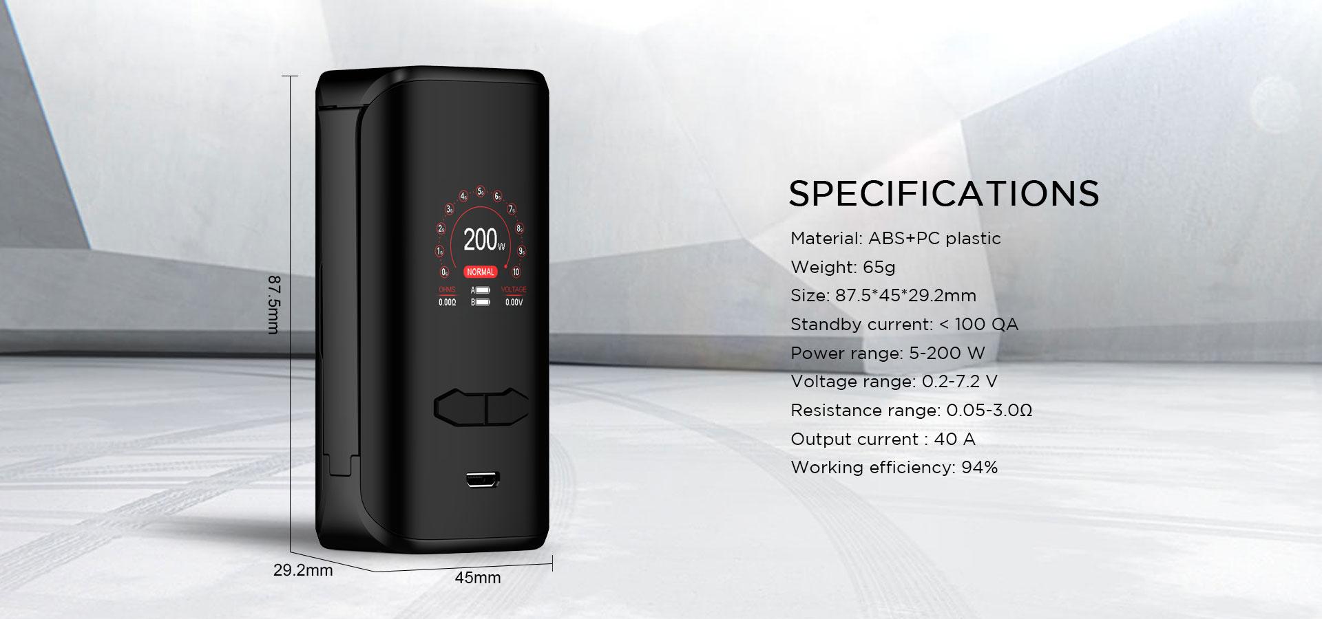 Vx200 Box Mod Augvape