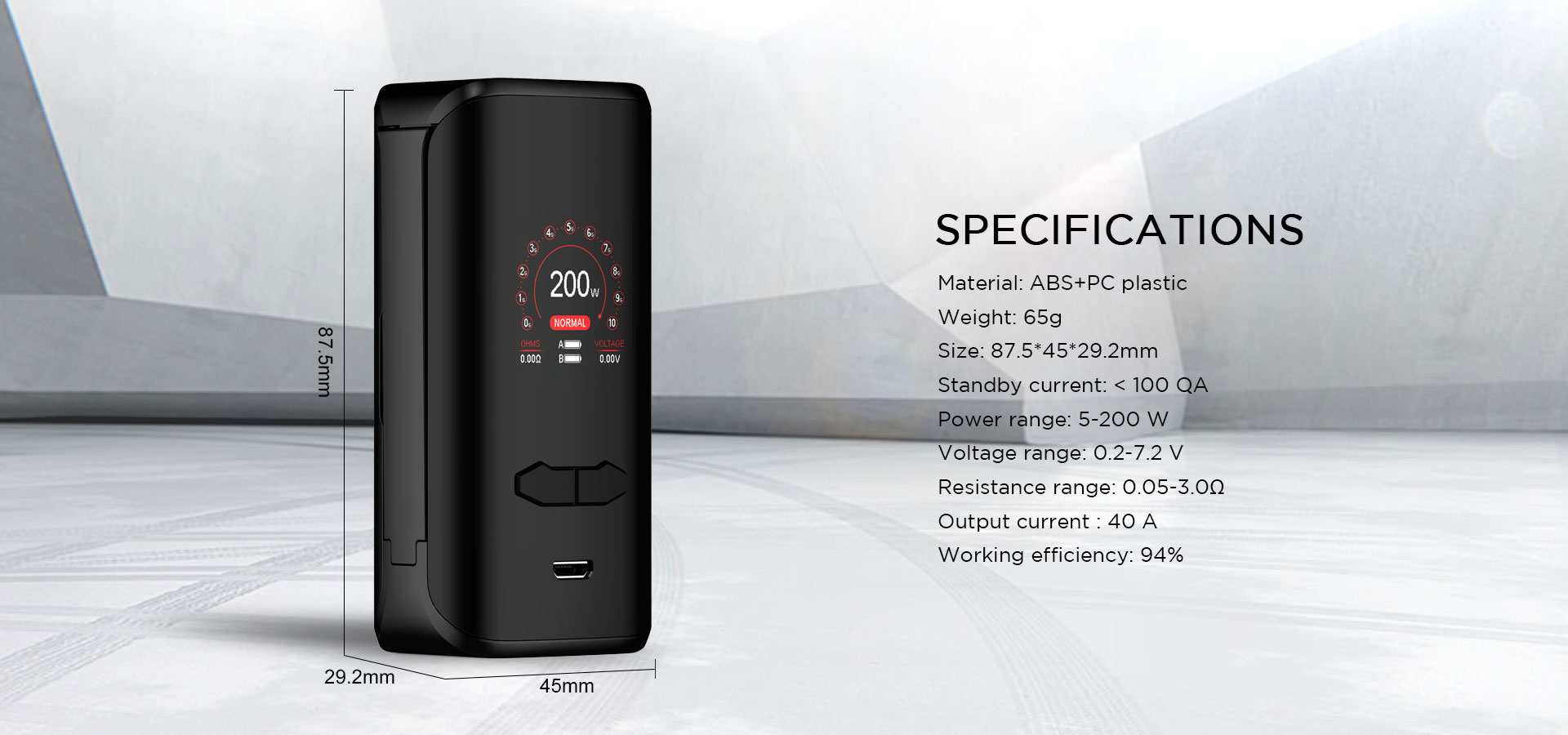VX200 BOX MOD - augvape