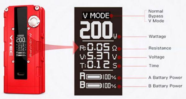 v200 box mod